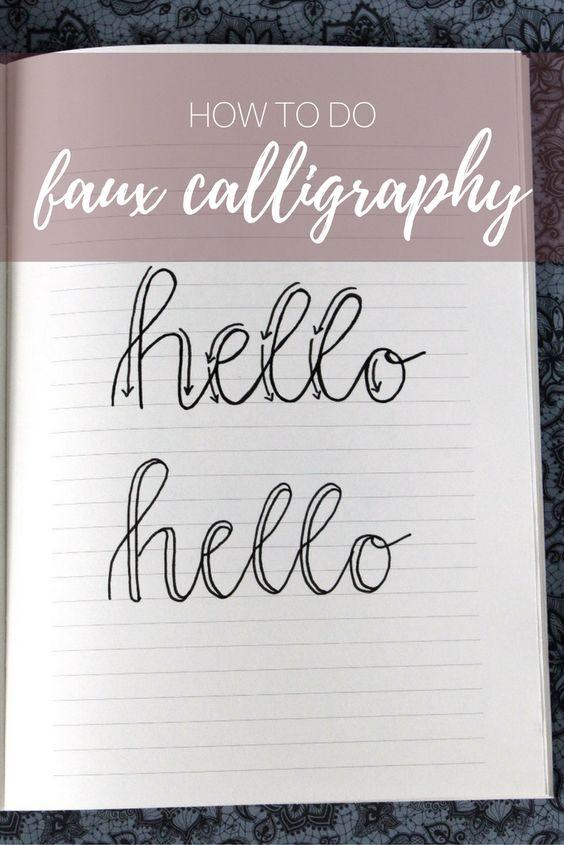 fake kaligraphi